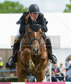 Matthew Heath and KILGARRON KONTENDER - Rockingham Castle International Horse Trials 2016