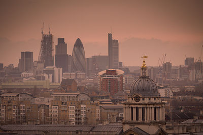 London Travel Photography - View From Greenwich Park