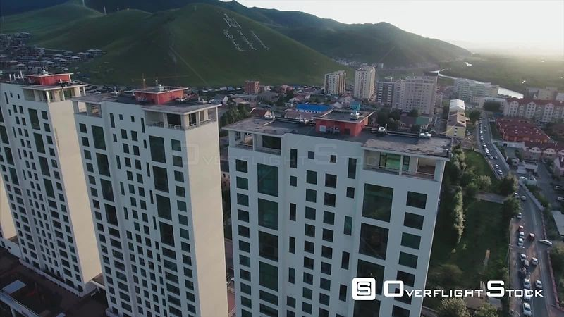 Ulaanbaatar Capital City Drone Video Mongolia