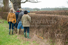 Course Walk - The Melton Hunt Club Ride 2012