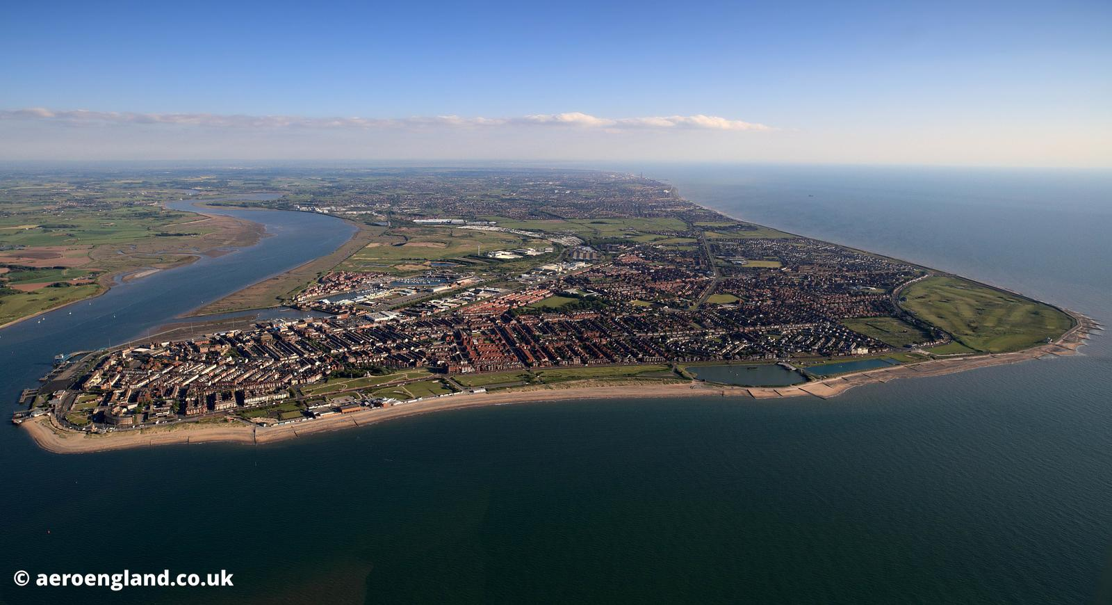 Fleetwood Lancashire aerial photograph