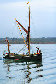 Sailing Barge Alice.