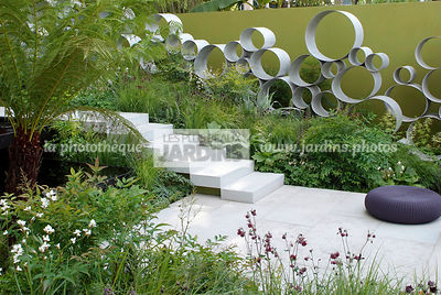 Contemporary garden, Digital, Trellis, Tropical garden, Contemporary Terrace