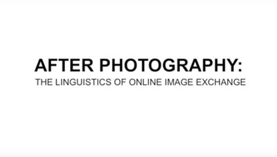 After Photography: The Linguistics of Online Image Exchange | Charlie White |  Pictures