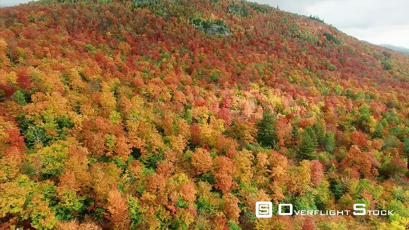 Brilliant Autumn Colors. Adirondacks New York