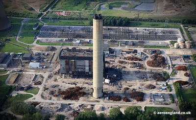 Didcot power station chimney