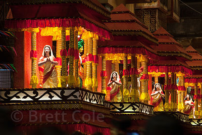 Brett cole photography pandal photo gallery a large and elaborate pandal temporary temple of sorts to the goddess durga during thecheapjerseys Choice Image