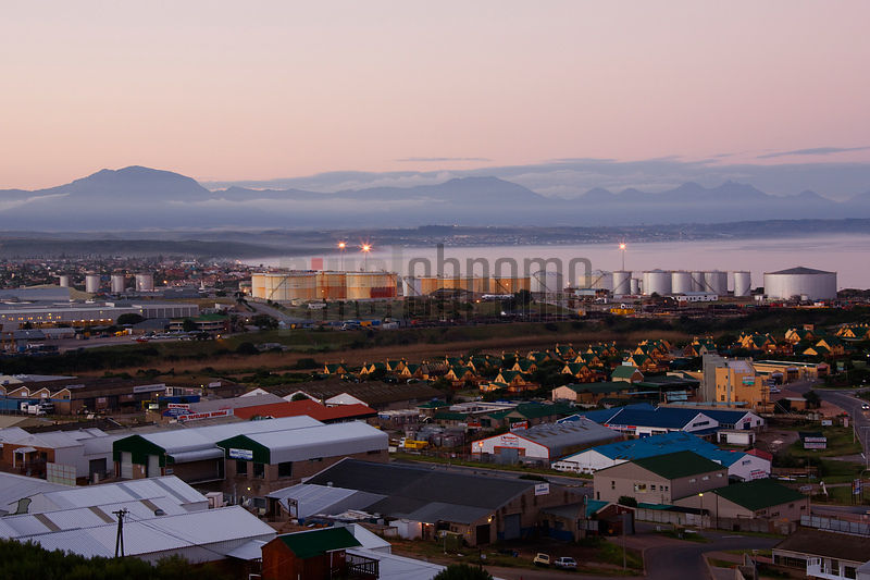 Mossel Bay Skyline at Dusk