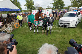 Sam Griffiths and PAULANK BROCKAGH - Show Jumping phase, Mitsubishi Motors Badminton Horse Trials 2014