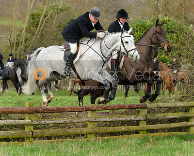 The Quorn Hunt at Markham House 24/1 photos