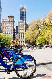 Bike sharing, New York city, USA