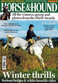 Horse & Hound Cover 15th November 2018