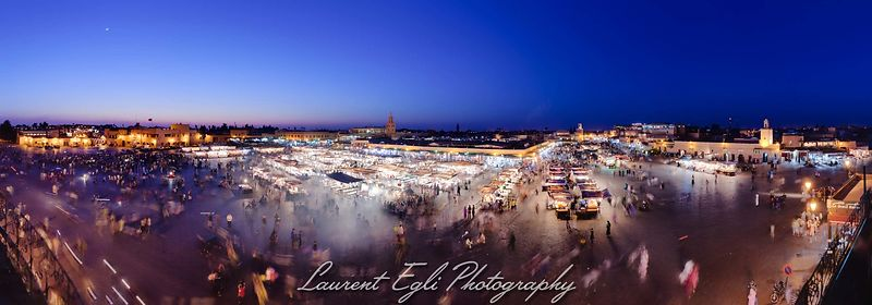 Marrakesh never sleeps