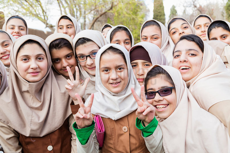 Iranian School Children