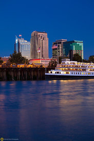Delta King and the Sacramento Skyline #8
