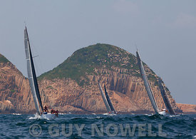 St Regis China Coast Regatta 2013 - Race day 1 - IRC 1 division at South Ninepin