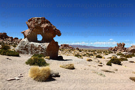 Rock formations in Valley of the Rocks / Valle de la Rocas near Alota , North Lipez region
