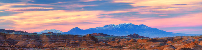 Goblin Valley Sunrise Panorama