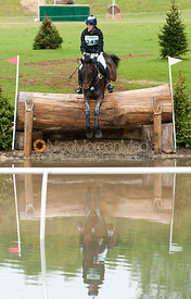 Wills Goodhew and Orleans II, Subaru Houghton International Horse Trials, May 2011