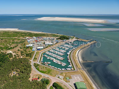 The port of Vlieland is one of the 17 wadden ports and consists of a working port and a marina.