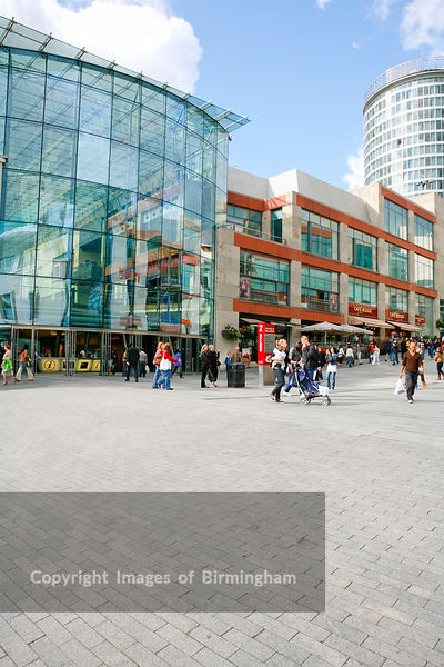 The Bullring Shopping Centre Birmingham.