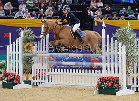 Lorraine Lock and Authorized, Horse of the Year Show 2010