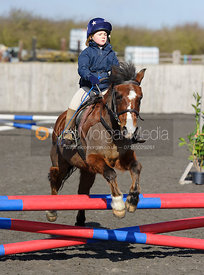 Class 1 - 60cm - Cottesmore Pony Club Eventer Trial 25/3/16