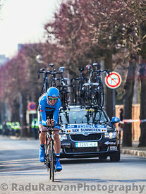 The Cyclist Van summeren Johan- Paris Nice 2013 Prologue in Houilles