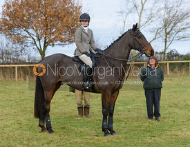 at the meet - The Belvoir Hunt at The Wolds Farm 3/12