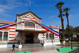 Facade of former customs house, Arica, Region XV, Chile