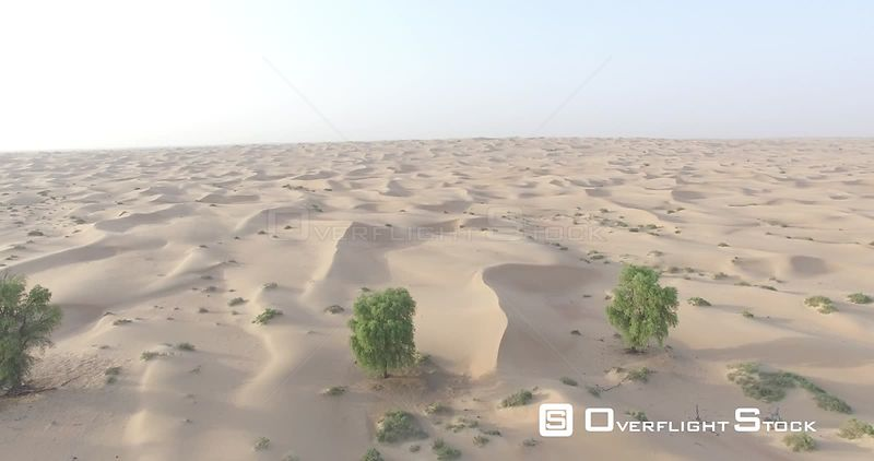 Drone Video of Sand Dunes Dubai