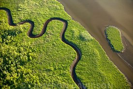 Aerial Maryland Nanticoke River