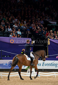 Oliver Townend and Brigadier - HOYS - Express Eventing Dressage