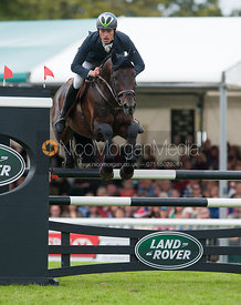 Kai Ruder and Le Prince Des Bois - show jumping phase,  Land Rover Burghley Horse Trials, 2nd September 2012.