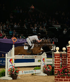 Oliver Townend and Brigadier - HOYS - Express Eventing Show Jumping