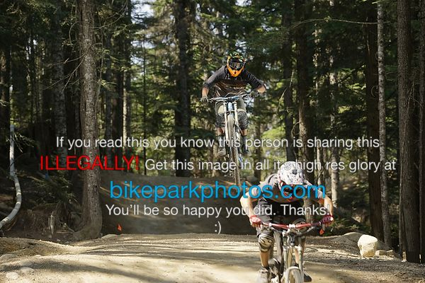 Saturday July 28th Aline Double bike park photos