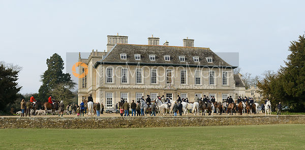 The Cottesmore Hunt meet at Stapleford 27/2