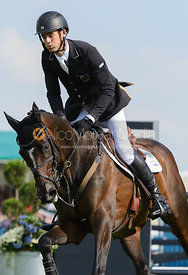 Jonathan Paget and CLIFTON PROMISE - show jumping phase, Burghley Horse Trials 2014.