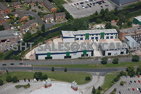 Birmingham aerial photograph  of the Birmingham Trade Park Kingsbury Rd Castle Bromwich