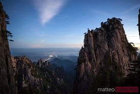 Huangshan mountains at sunrise, Anhui, China