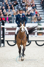 Paris, France, 17.3.2018, Sport, Reitsport, Saut Hermes - .PRIX GL Events Bild zeigt Edward LEVY(FRA) riding Rebeca Ls...17/03/18, Paris, France, Sport, Equestrian sport Saut Hermes - PRIX GL Events. Image shows Edward LEVY(FRA) riding Rebeca Ls.