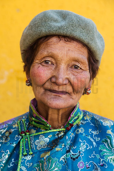 Portrait of a Woman at Gandan Monastery