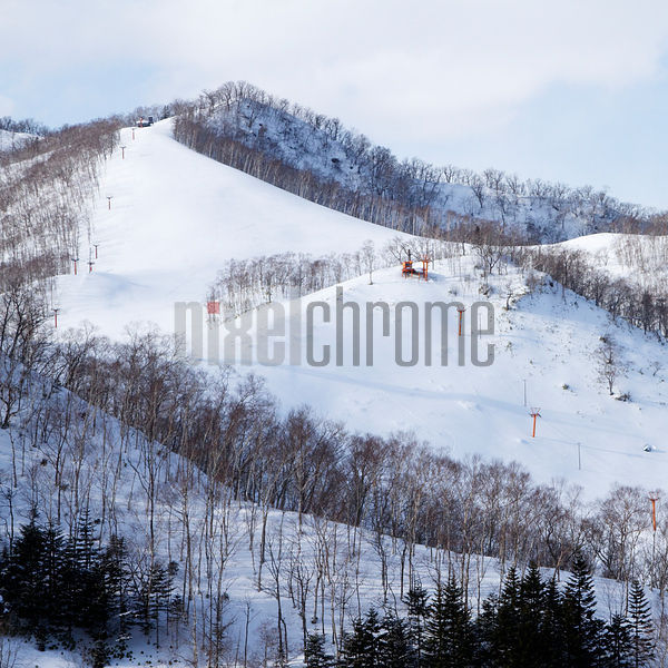 Ski Slope with Chairlift