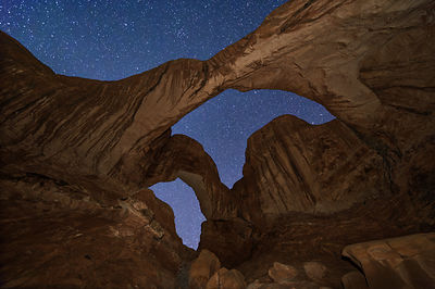 Midnight at Double Arch