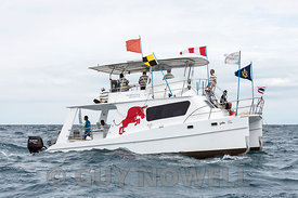 Committee Boat. Phuket King's Cup 2016.