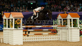 Paul Sims and French Polish - HOYS - Express Eventing Show Jumping