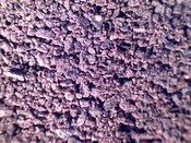 COFFEE: extreme close-up of finely ground coffee #1
