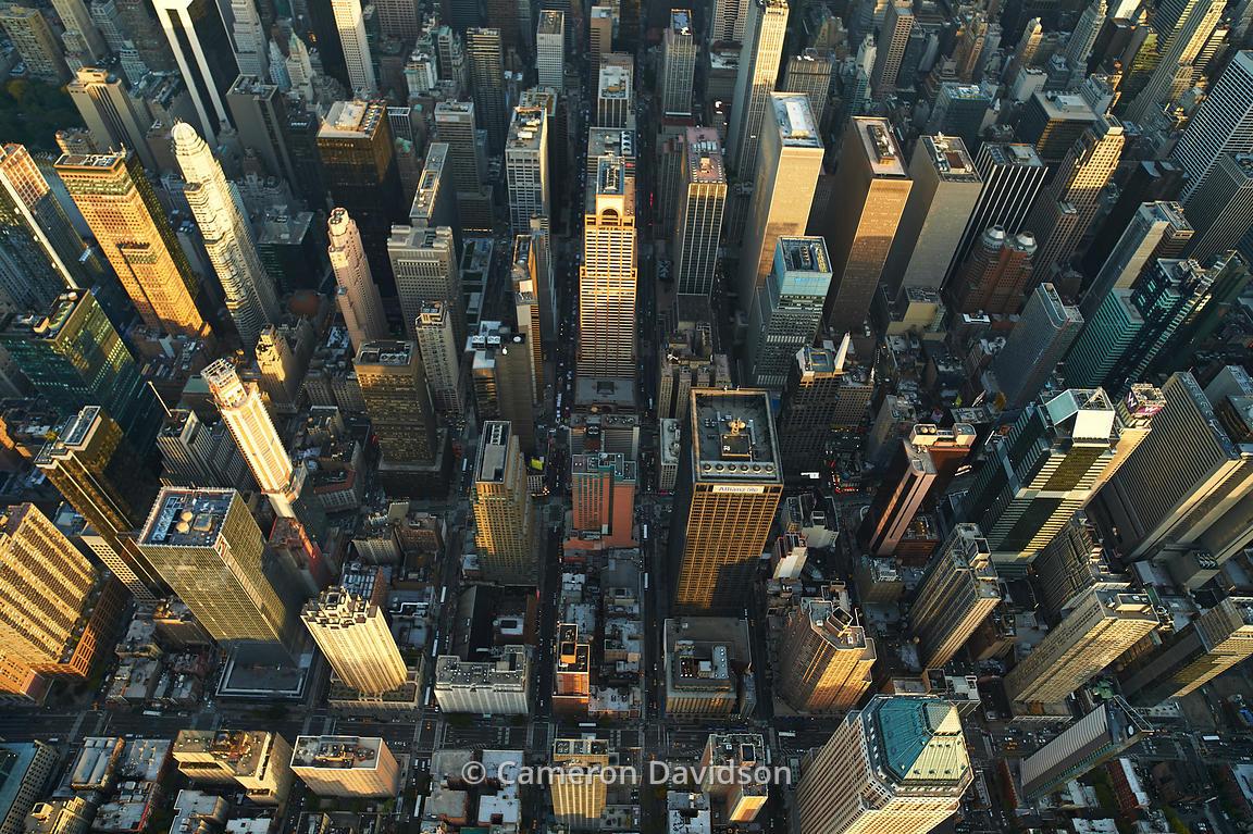 Aerial photograph of Lower Manhattan