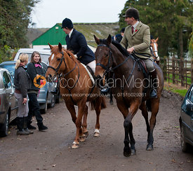Bruce Langley-McKim - The Quorn Hunt at Centaur Stud, Cold Newton 18/11/11.