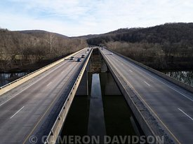Route 50 Bridge over the Shenandoah River